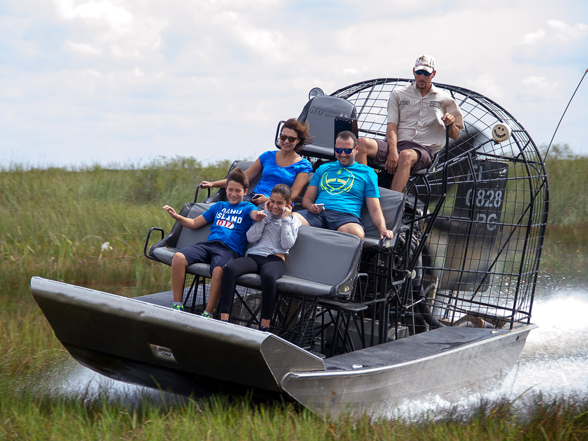Florida Airboat Rides At Gator Park Everglades Airboat